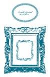Stempel, silikon, Rammer, 10 x 18,5 cm