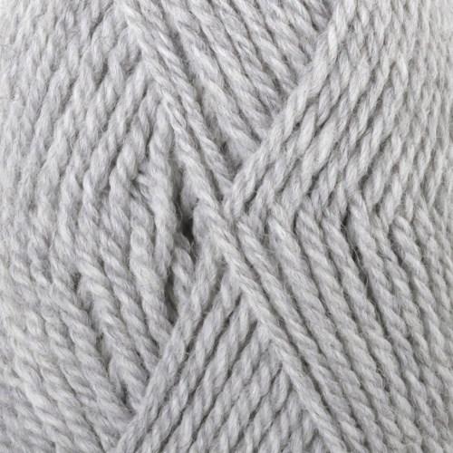 Drops Alaska Mix Garn Ullgarn 50g Light Grey 03