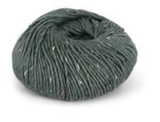Du store Alpakka Tweed Garn Ullmix 50 g Gråblå 105