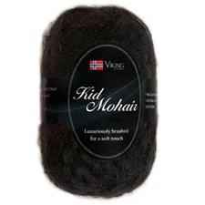 Viking of Norway Kid Mohair 50 gr musta