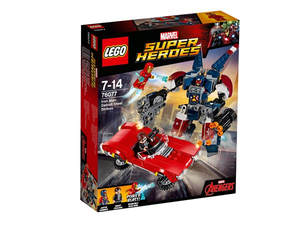 Iron Man: Detroit Steel anfaller, LEGO Super Heroes (76077)