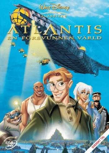 Disney Klassiker 40 - Atlantis - En försvunnen värld  Buena Vista