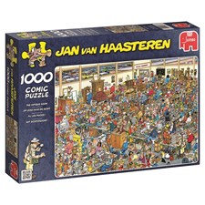 Jan van Haasteren, Antique show, Puslespill, 1000 brikker