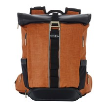 "SAMSONITE Ryggsäck 2WM 15,6"" RollTop Orange"