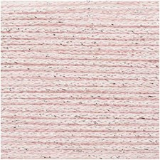 Rico Fashion Cotton Métallisé Lanka Puuvillasekoitus 50g Rose Quartz 008