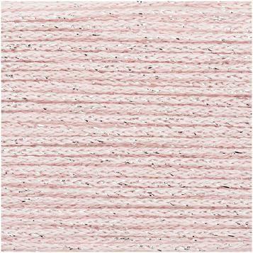 Rico Fashion Cotton Métallisé Lanka Puuvillasekoitus 50g Rose Quartz 008