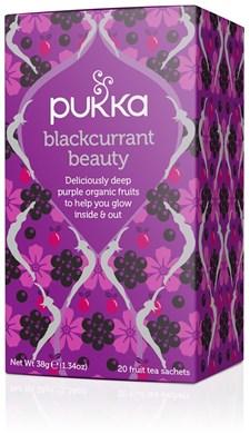 Pukka Te Blackcurrant Beauty Tepåsar 20 st Ekologisk