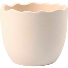 Äggskal av Terrakotta 7,5 cmx6,3 cm 24 st