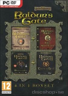 Baldur's Gate - Compilation 1+2 med tillhörande expansioner.