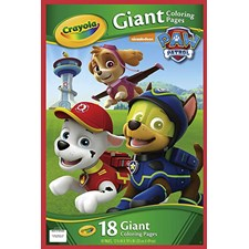 Paw Patrol Giant Colouring with Stickers