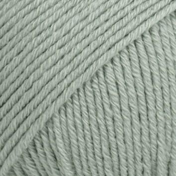 Drops Cotton Merino Uni Colour Lanka Villasekoitus 50g Sea Green 29