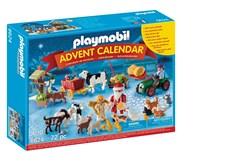 Adventskalender 2016, Jul på gården, Playmobil (6624)