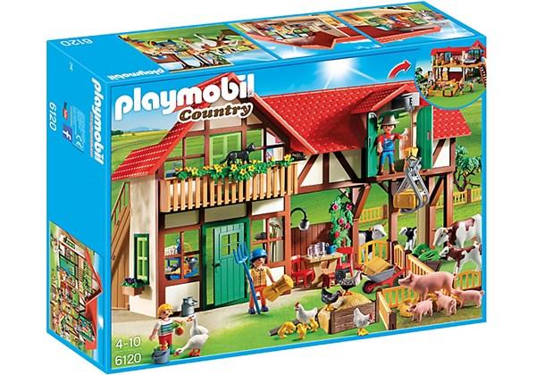 Stor bondegård, Playmobil Country