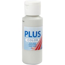 Plus Color hobbymaling, 60 ml, light grey