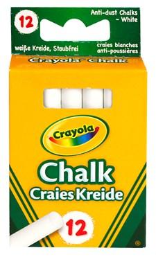 Tavelkritor Crayola Vita 12-pack