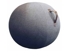 JobOut Balansboll Design, Mörkgrå