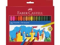 Tuschpennor Barn 36-pack Faber-Castell