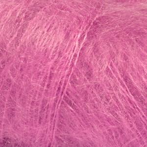 Drops Kid- Silk Uni Color Garn Mohair Silke 25 g cerise 13