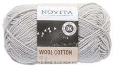 Novita Wool Cotton Lanka Villasekoite 50 g, kitti 402