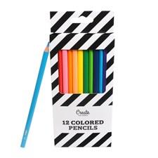 Färgpennor Adlibris 12-pack