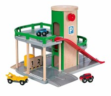 Parking Garage Set, Brio-puurautatie