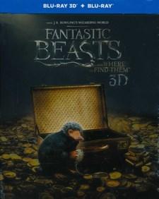 Fantastiska vidunder och var man hittar dem: Steelbook (Blu-ray 3D + Blu-ray)
