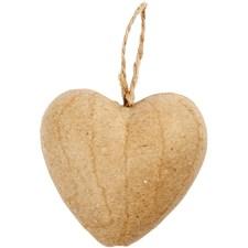 Hjärta, H: 6,5 cm, 9 st.