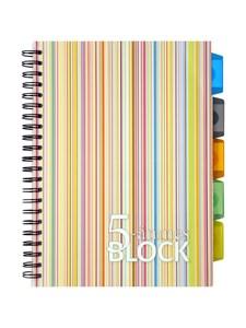 Kollegieblock ämnesblock 5-ämnes A4 PP