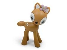 Form Living Stoja Figur Bambi 10x8cm Senapsgul