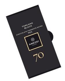Amedei Chokladkaka Toscano Black 70% 50 g