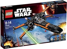 Poe's X-Wing Fighter, Lego Star Wars (75102)