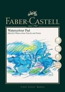 Akvarellblock Faber-Castell A5, 300 gr, 10 ark