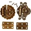 Minibeslag, str. 30-35 mm, 30 sett, antikk gull