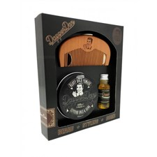 Dapper Dan Hairy Man Gift Set Heavy Hold Pomade