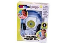 Høretelefoner med innebygd mikrofon og høytaler