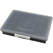 Raaco Multicase sortimentlåda, stl. 24x19,5x4,3 cm, 1 st.