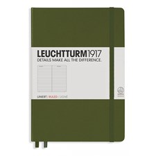 LT NOTEBOOK A4+ Slim Hard army 121 p. ruled