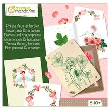 Pysselset, Kreativ box, Växtpress och Herbarium
