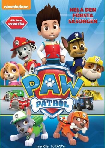 PAW Patrol - Säsong 1  Vol 1-10 (10-disc) f3cdba094770b