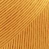 Safran Drops design Garn Bomull 50 g sterk gul 11