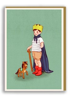 Kortti ja kirjekuori I Am King Nineteenseventythree