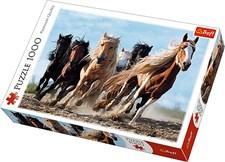 Galloping horses, Pussel, 1000 Bitar, Trefl
