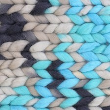 Adlibris Chunky Wool 200g Turquoise Fusion B070