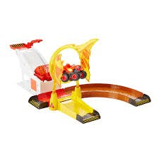 Blaze ja Monsterikoneet Flaming Stunt Play Set Blaze
