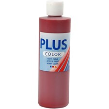 Plus Color-askartelumaali, 250 ml, antiikinpunainen