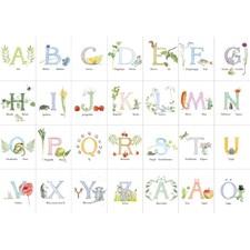 Majas ABC alfabetsunderlägg