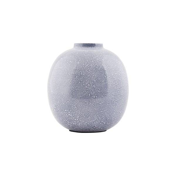 House Doctor Vas Effect Rund Blå Svart - vaser