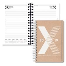 Kalenteri 2019 Burde Päiväkirja Eco Fashion