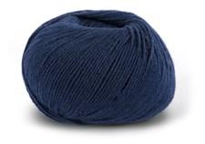 Knit At Home Superfine Baby Merino Ullgarn 50 g Marine 214