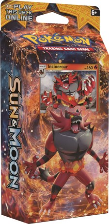 Poke Sun & Moon 1 Theme Deck, Incineroar, Pokémon